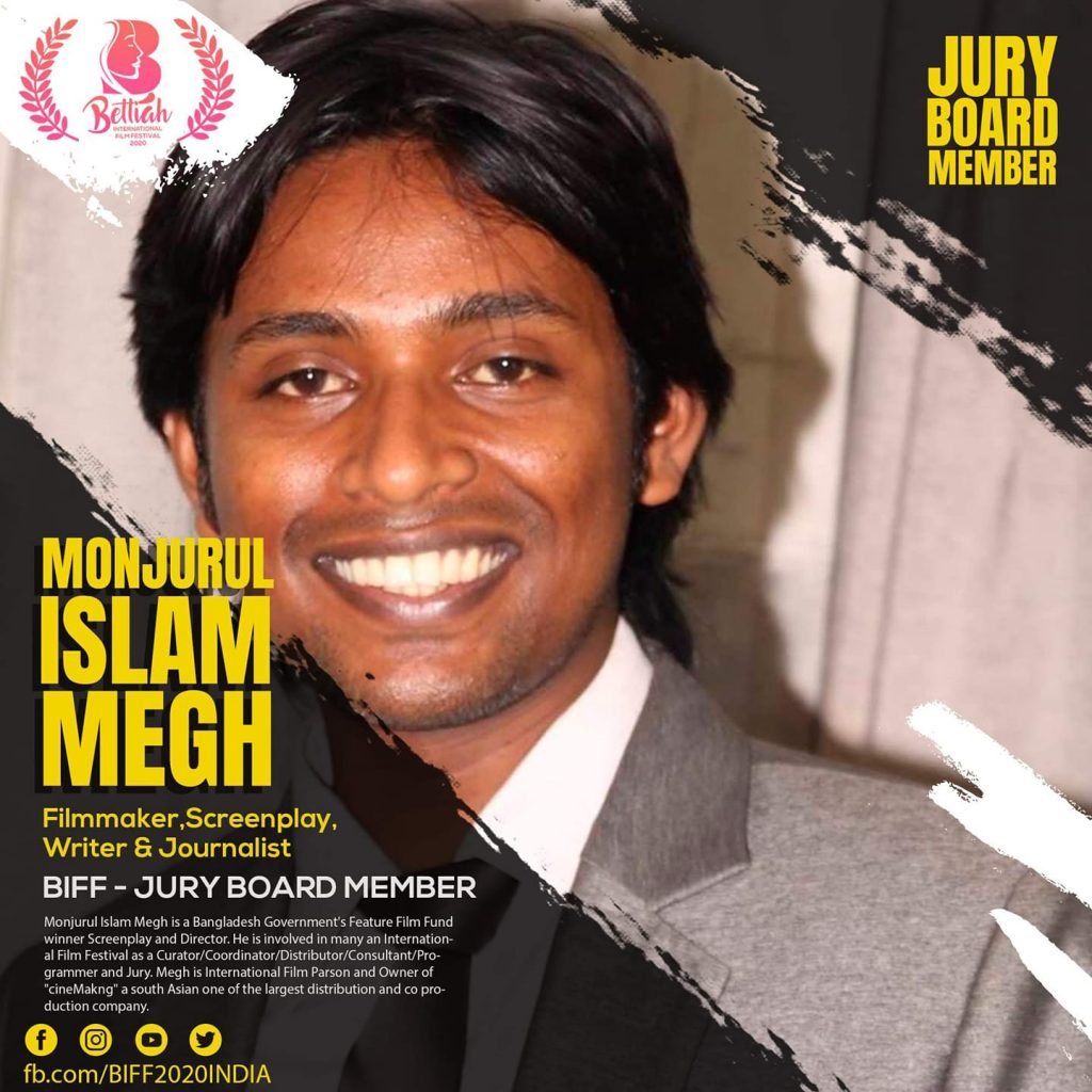 Megh included in BIFF jury team